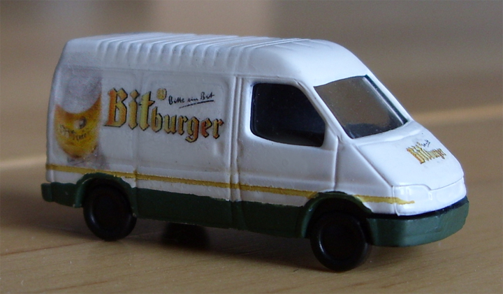 Lieferwagen Bitburger Spur N
